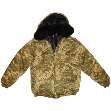 New Military Army Digital Camouflage Winter Jacket Russian Uniform