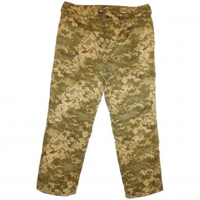 Winter Military Army Digital Camo Trousers, Russian Ukrainian Uniform BDU Suit