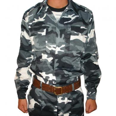 Russian Military Special Camo Uniform Set BDU