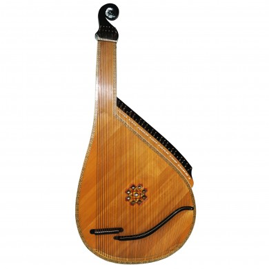 Old Traditional Ukrainian Bandura 55 String Original Folk Musical Instrument 1631, Amazing sound. Perfect condition for its age.