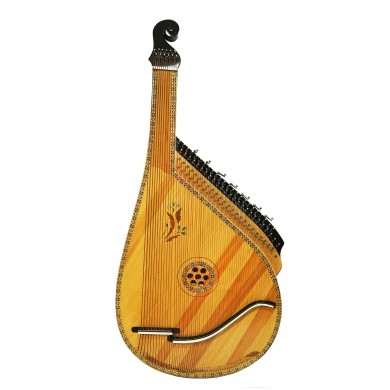 Rare Ukrainian Bandura with Levers 61 String Professional Folk Musical Instrument Authentic Amazing sound!