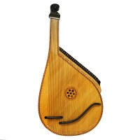 Old Traditional Ukrainian Bandura 55 String Original Folk Musical Instrument 1633, Amazing sound. Perfect condition for its age.