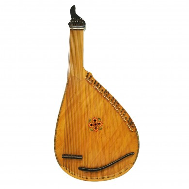 Old Traditional Ukrainian Bandura 46 String Original Folk Musical Instrument 1634, Amazing sound. Perfect condition for its age.