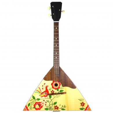 New Russian / Ukrainian Balalaika 3 Three String Prima. Hand Painted! Wood! High Quality! 52
