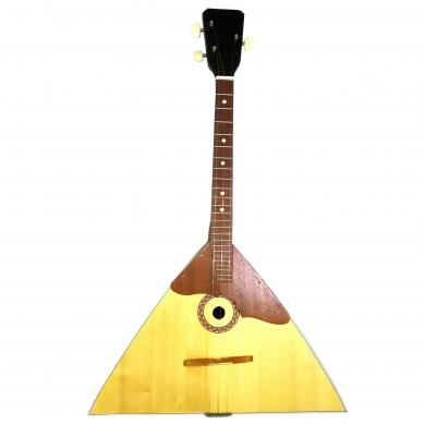 Brand New Classic Original Russian Balalaika 3 Strings Prima. High Quality! Natural Wood! 389