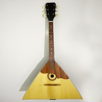 Brand New Classic Original Russian Balalaika 6 Strings Prima. High Quality! Natural Wood! 993