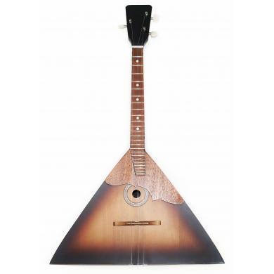 Brand New Classic Original Russian Balalaika 3 Strings Prima. High Quality! Natural Wood! SunBurn
