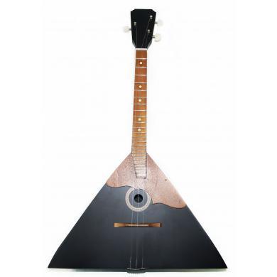 Brand New Classic Original Russian Balalaika 3 Strings Prima. High Quality! Natural Wood! Black!