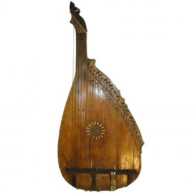 Antique Ukrainian Original Bandura By Famous Skilar Sklyar I.M Unique Musem Item, 50
