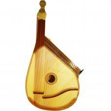 New Traditional Ukrainian Bandura 65 (63) Strings Chromatic Folk Instrument, 391