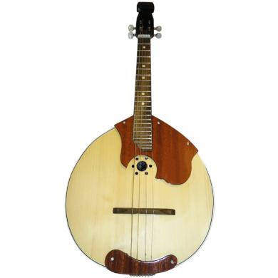 Brand New  Russian Domra 4 String Prima, Natural Wood, High Quality, 53