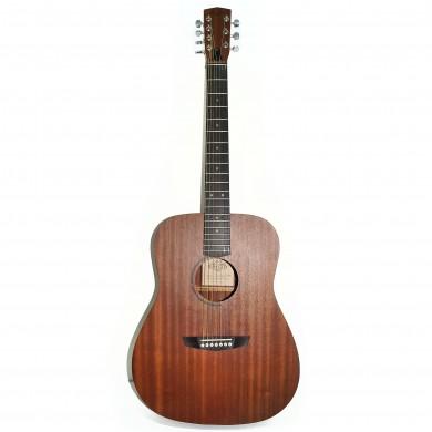 New Russian Ukrainian Seven 7 String Acoustic Dreadnought Guitar Trembita SunCity Natural Wood!