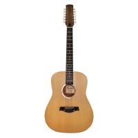 New Russian / Ukrainian 12 Strings Acoustic Guitar, Trembita Natural Wood. Excellent Sound!