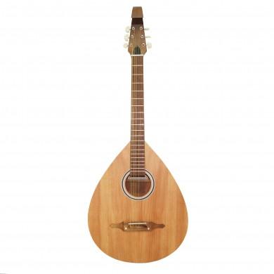 New Ukrainian 6 Six Strings Acoustic Guitar Lute Folk Kobza, Trembita Natural Wood! Handmade 393