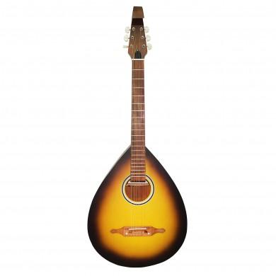 New Ukrainian Folk 6 Strings Acoustic Guitar Lute Kobza, Trembita Sunburn Natural Wood!