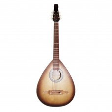 New Ukrainian 6 Six Strings Acoustic Guitar Lute Folk Kobza, Natural Wood! Sunburn